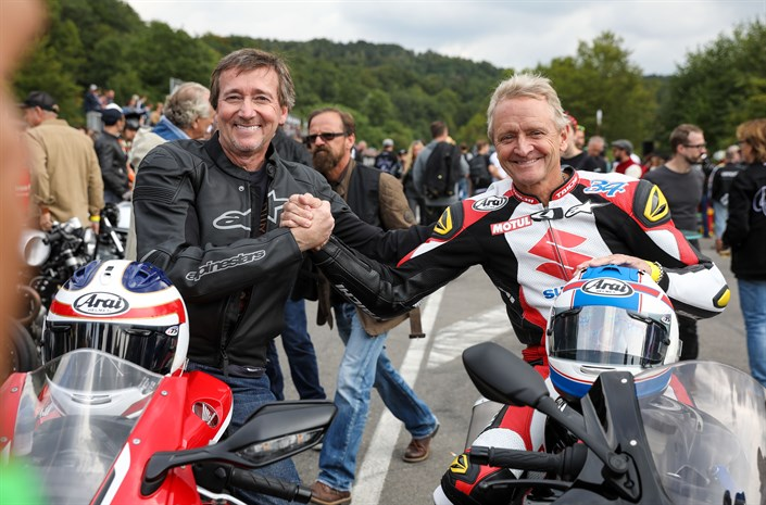113295 Honda at Glemseck 101 with special guest Freddie Spencer on the CBR1000RR