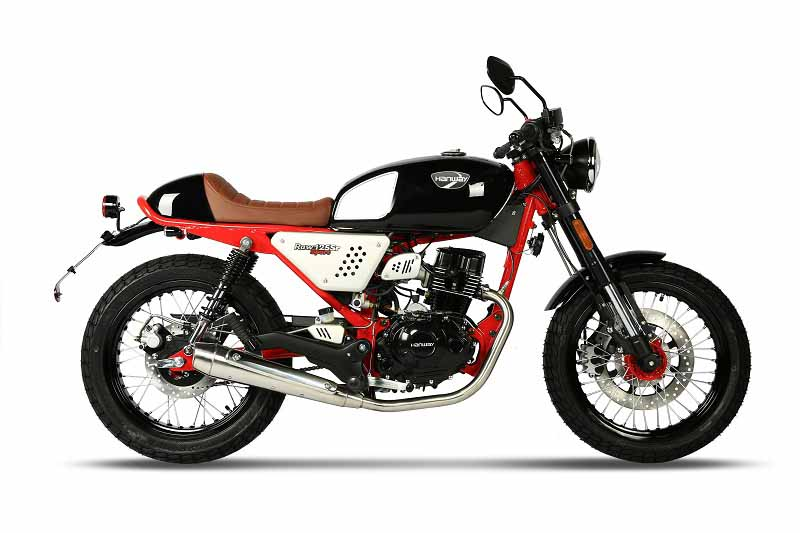 Raw125SRSportBlack Red