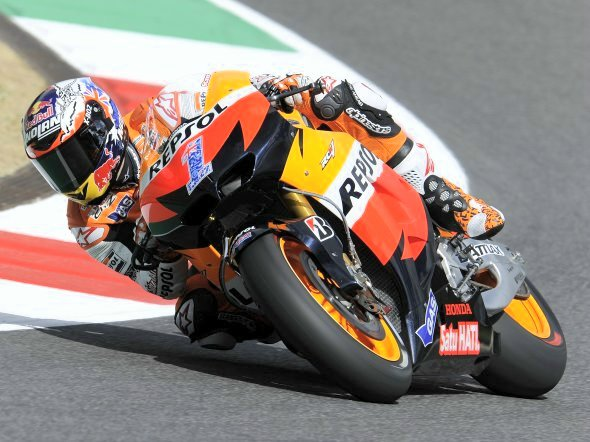 stoner test post gp mugello 2012